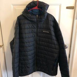 Columbia Jackets & Coats Herre Oak Apex Down Hooded Jacket  Mens Oak Apex Down Hooded Jacket